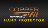 Copper Fit Guardwell Hand Protector